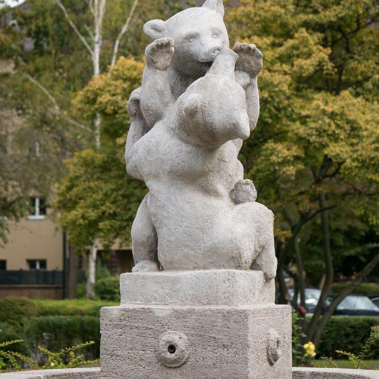 Bärenbrunnen in der Germania-/Bärensiedlung