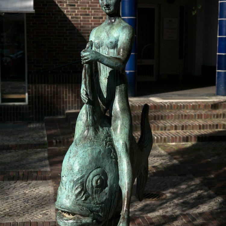 Fischreiterin von Georges Morin