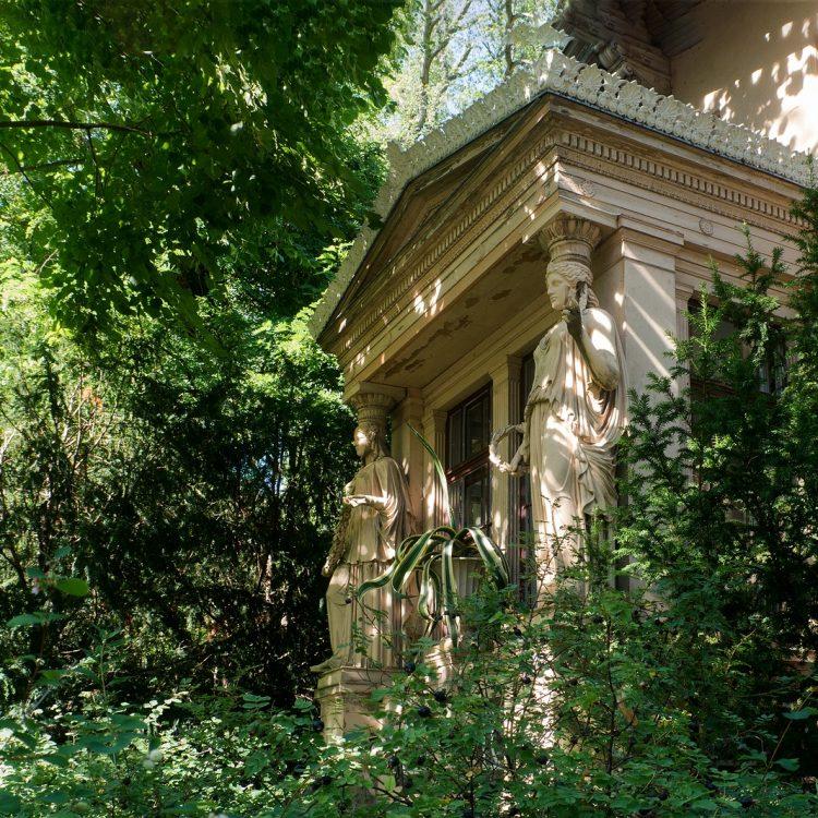 Karyatiden im Schlosspark Glienicke