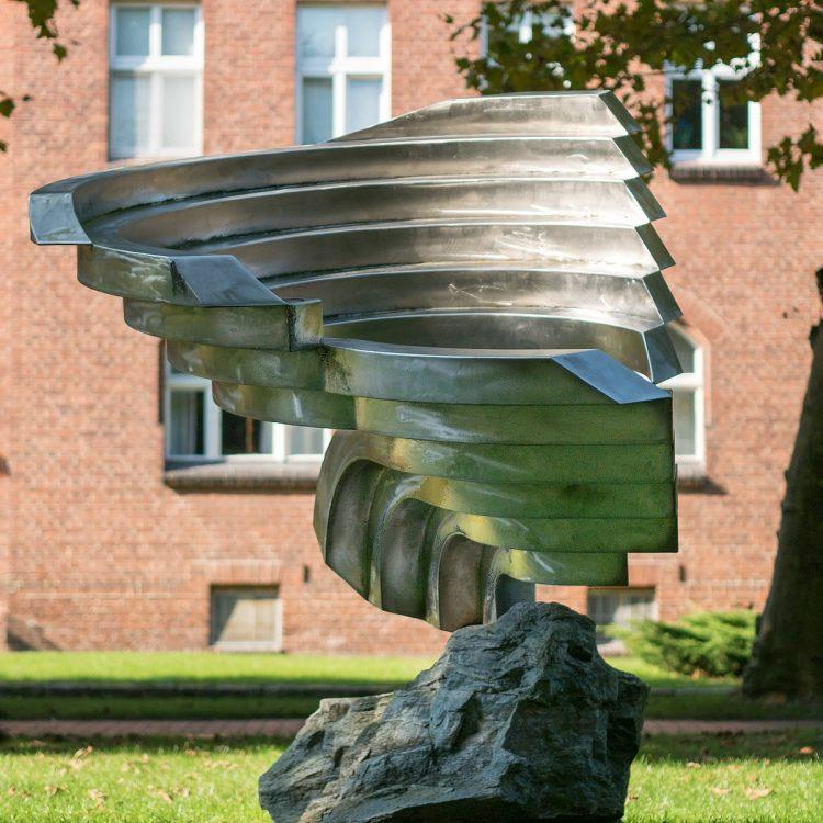 Volkmar Haase Woge auf Kyanit (1998)