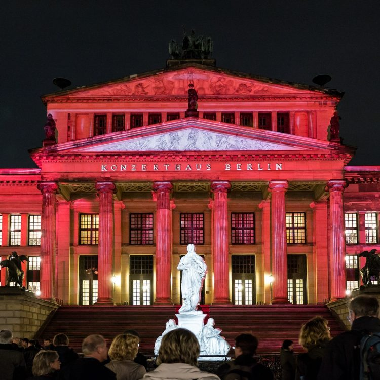 Konzerthaus am Gendarmenmarkt, Berlin, Festival of Lights 2013