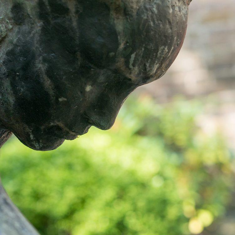 Skulptur im Kolbe-Museumsgarten