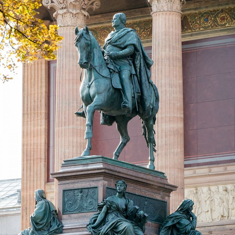 Friedrich Wilhelm IV, König von Preußen von Alexander Calandrelli (1886)