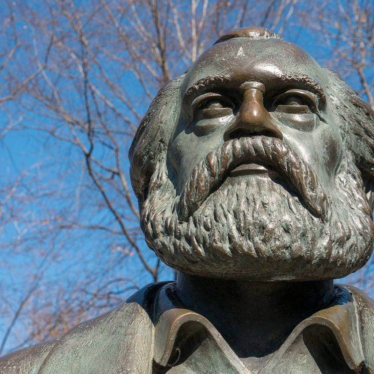 Karl Marx von Ludwig Engelhardt (1986)
