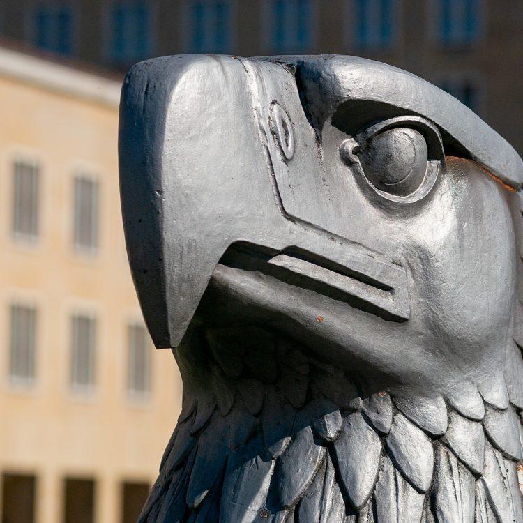 Kopf des Reichsadlers von Wilhelm Lemke