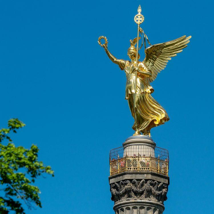 Siegessäule mit Viktoria von Friedrich Drake
