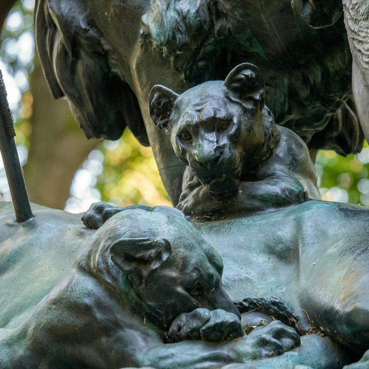 Löwengruppe von Wilhelm Wolff (1872)