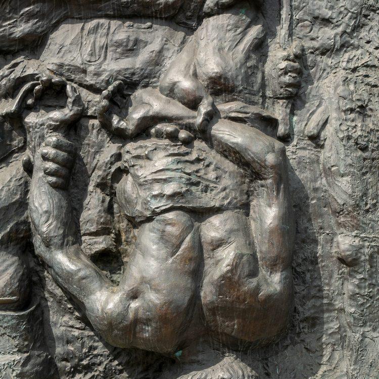 Alfred Hrdlicka 'Der Tod des Demonstranten'