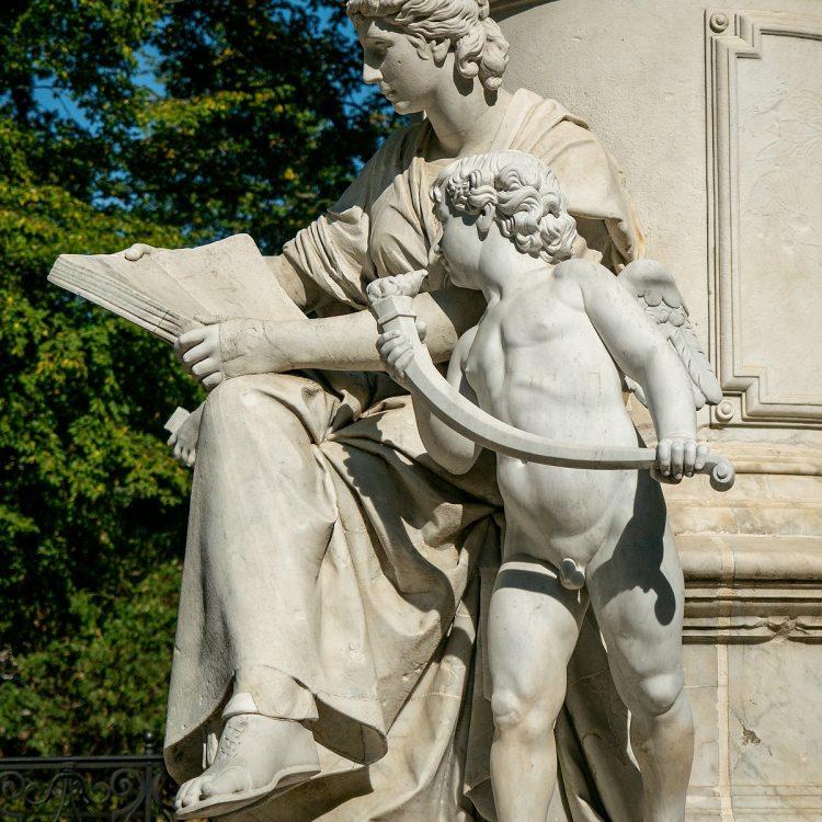 Goethe-Denkmal von Fritz Schaper