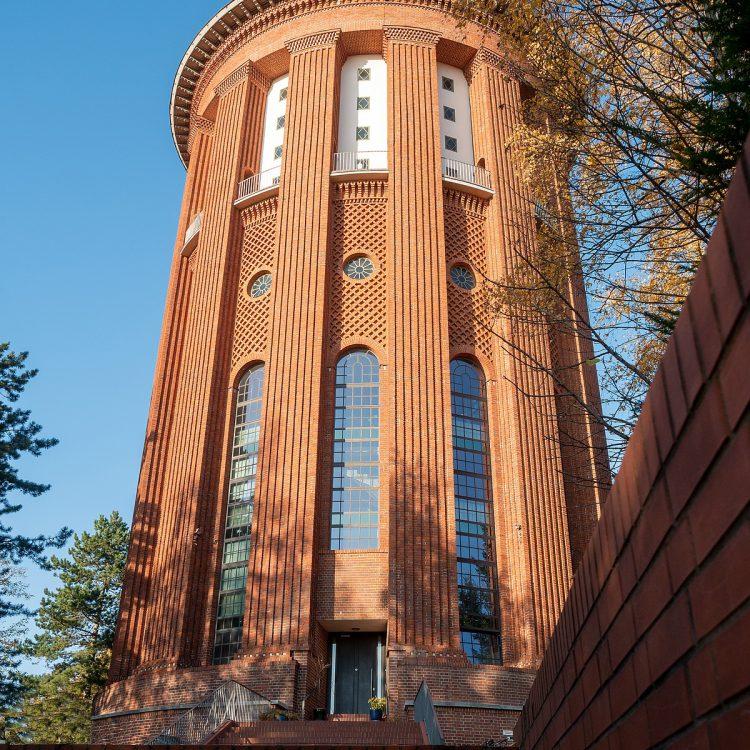 Friedhof Bergstraße, Wasserturm