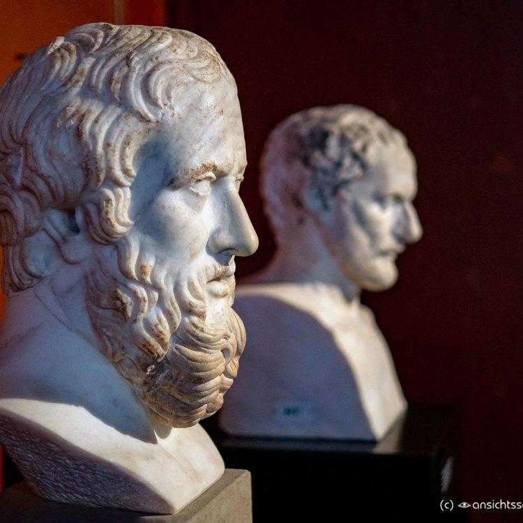 Neues Museum Büste des Herodot von Halikarnassos