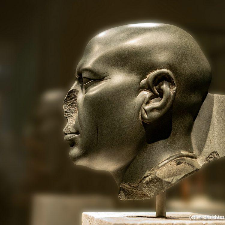 Neues Museum 'Berliner Grüner Kopf' (Ägypten, ca. 350 v. u. Z.)