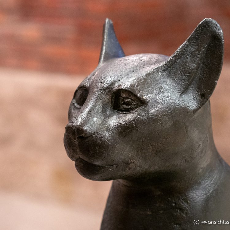 Neues Museum Katzengottheit Bastet