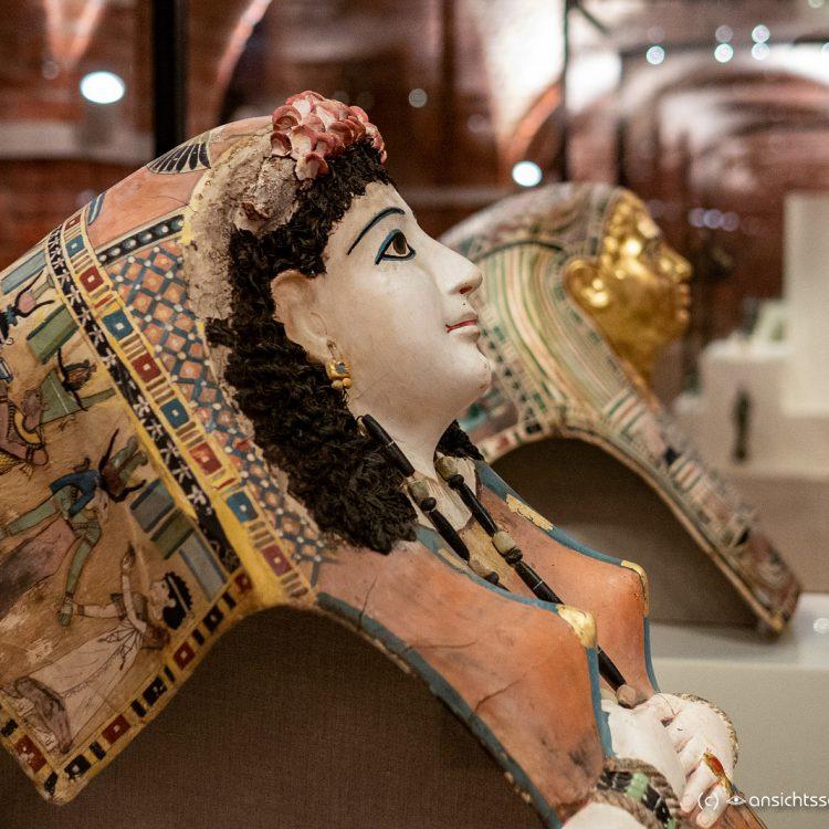 Neues Museum, Mumienmaske einer Frau