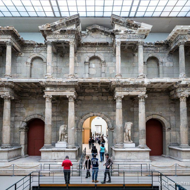 Pergamonmuseum, Fassade einer Markthalle aus Römischer Zeit