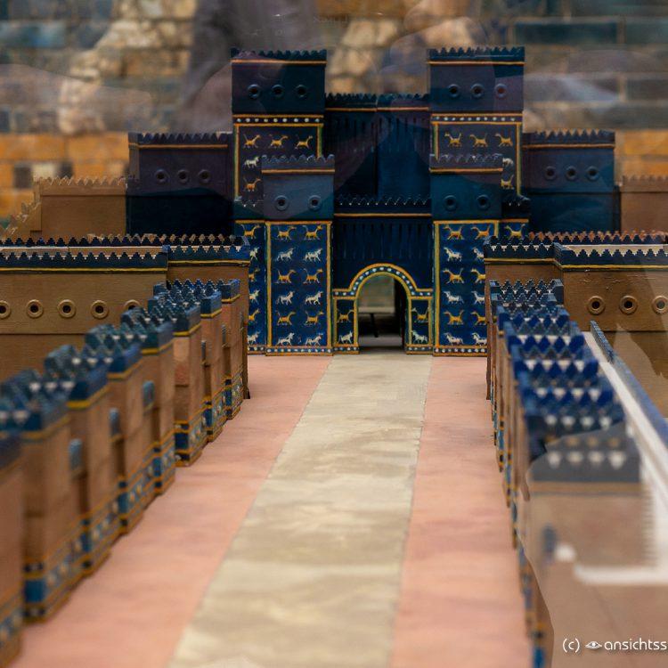 Pergamonmuseum Modell der Prozessionsstr. u. Ischta Tor