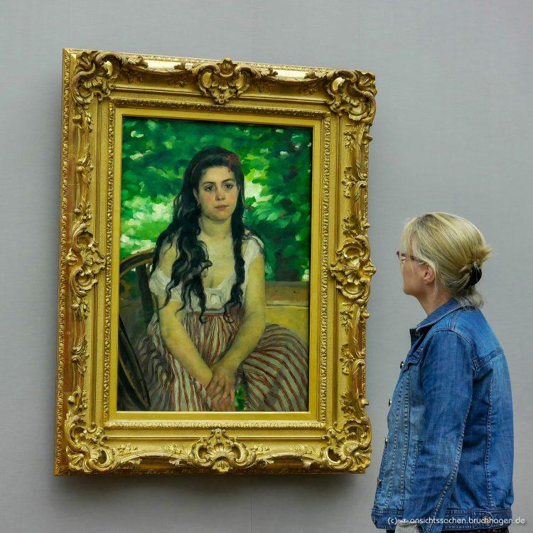Alte Nationalgalerie Pierre-Auguste Renoir, En été (Im Sommer) (1868)