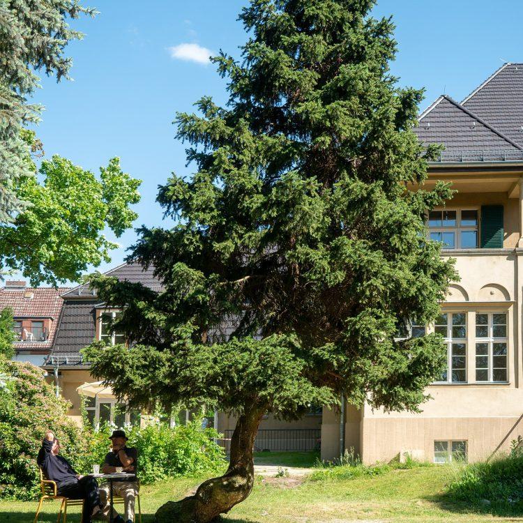 Haus am Waldsee, im Garten