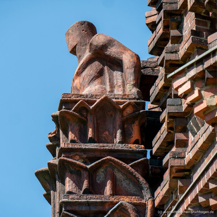 Details des Wasserturms im Volkspark Jungfernheide