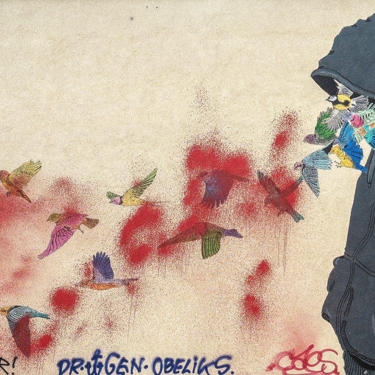 Mural von Don John am Mehringplatz