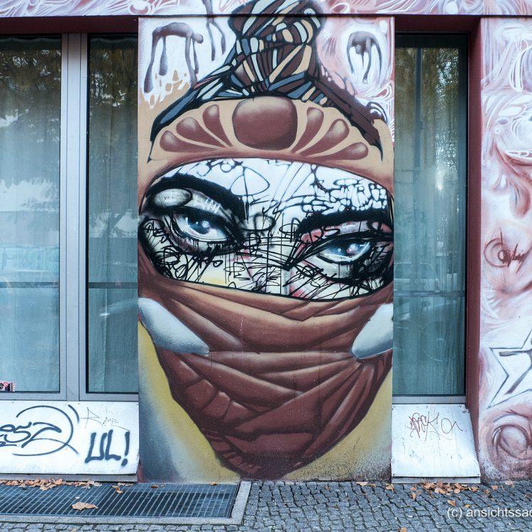 Mural in Kreuzberg-Friedrichshain