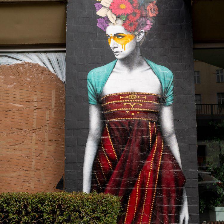 Mural in der Bülowstraße von Fin DAC