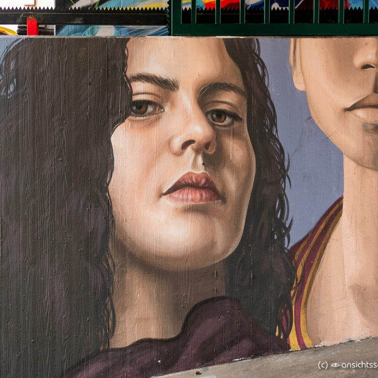Mural in der Bülowstraße
