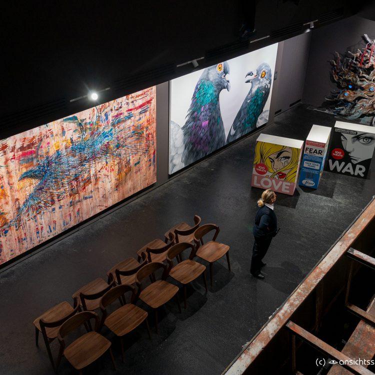 Im Museum für Streetart