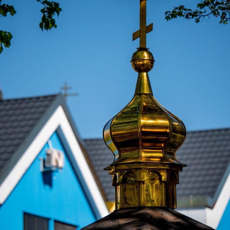 Kleine orthodoxe Kirche in Charlottenburg